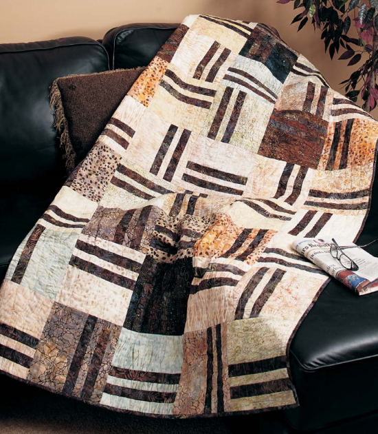 quilts for men animal fabric