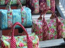 travel duffel pattern Studio Cherie
