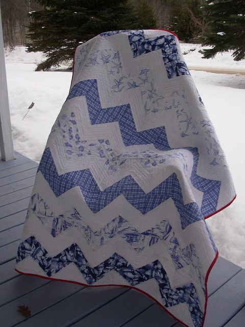 two color quilts