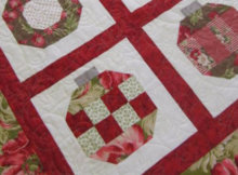 Christmas Ornaments quilt Vintage Holiday Thimble blossoms