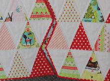 Christmas quilt Christmas trees