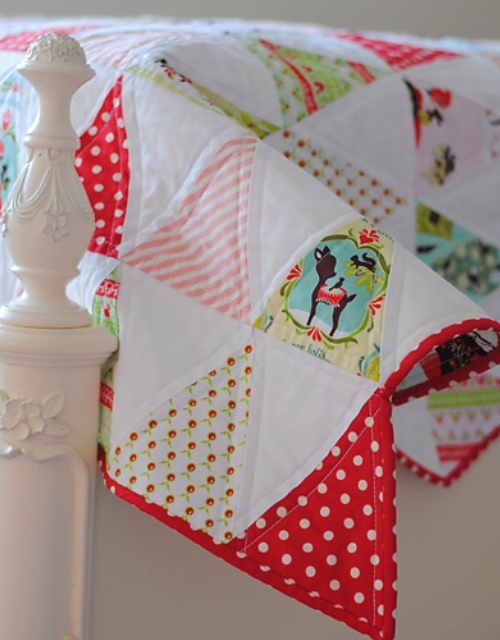 Christmas quilt holiday fabric