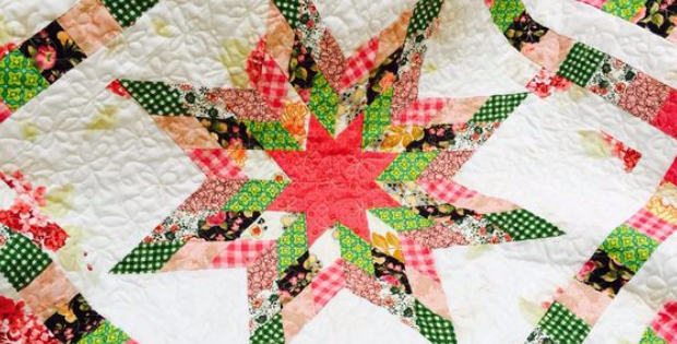 Lone Star Girl Baby quilt