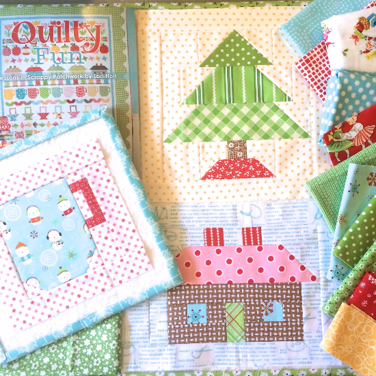 Quilty Fun Quilt Block Christmas Tree