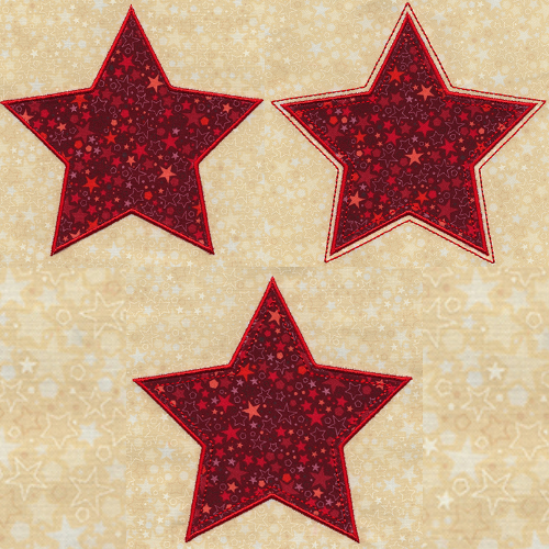 applique stars patrick lose