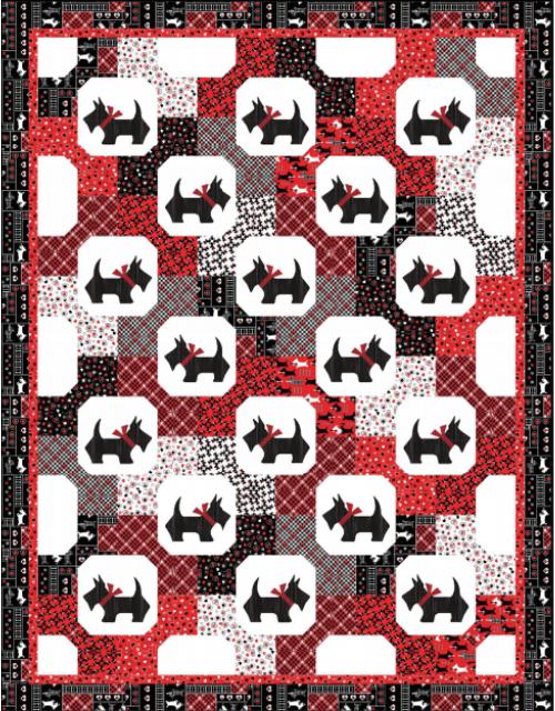 scottie dog quilt fabric