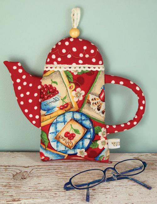 teapot glasses pouch