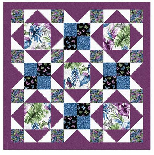 Afternoon Delight flying gees quilt pattern