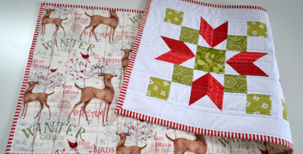 Poinsettia table runner Christmas Collection