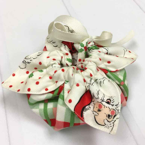 Swell Christmas Urban Chicks Fabric gift pouch