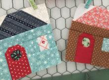 easy cottage house quilt blocks