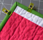 how to sew sharp mitered quilt binding