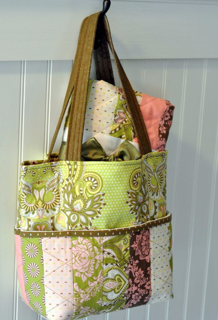 jelly roll tote bag