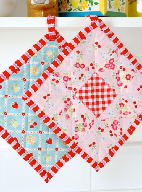 pot holders quilt pattern