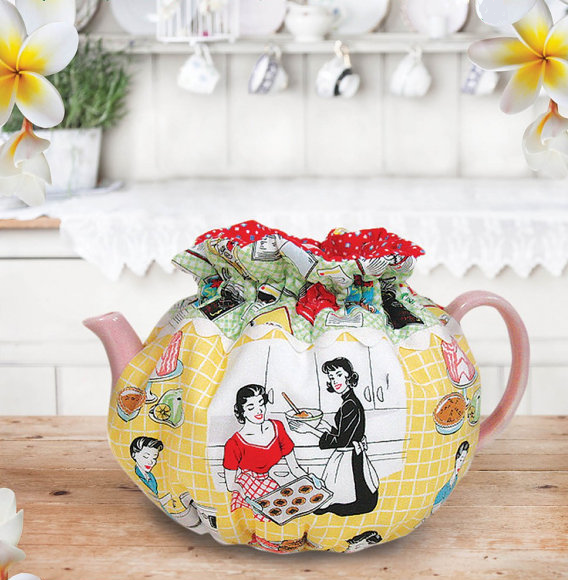 quilted tea cozy afternoon tea