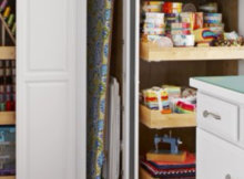 how to organize your sewing room