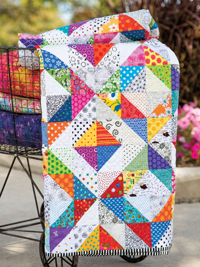 how to square up fabric for quilt blocks