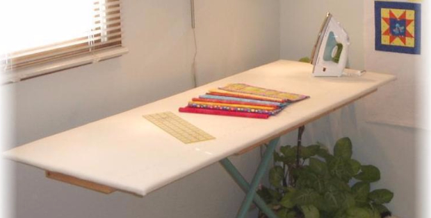 ironing board for quilters home made