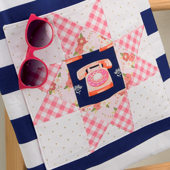 that patchwork place lunch hour patchwork project tote