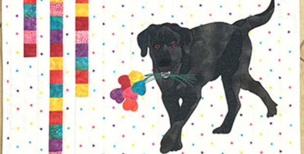 Puppy Love From Your Favorite Valentine Quilting Cubby
