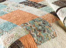 Fat quarter collection quilt
