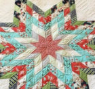 Jelly Roll wall quilt Lone Star