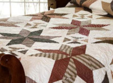Layer Cake Orchard House Dashing Stars Quilt