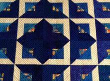 Radiant quilt Cozy Quilts Daniella Stout
