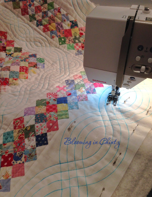 how to quilt cables