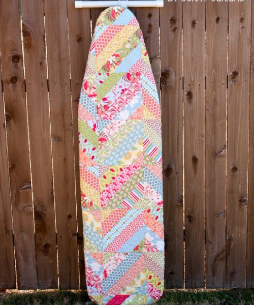 ironing board cover using jelly strips