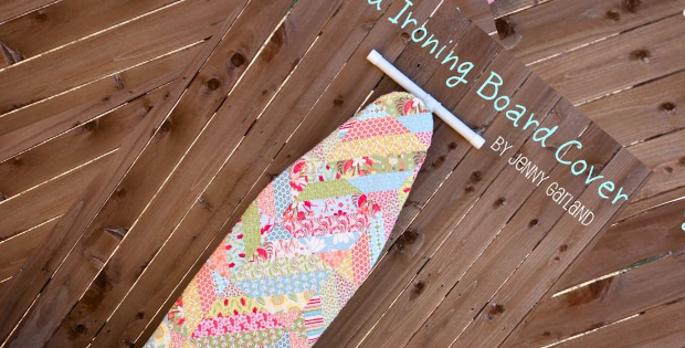 jelly roll ironing board cover