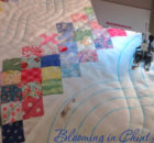 quilt quilting cables using a walking foot