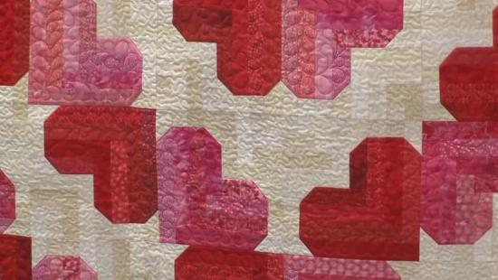 valentine hearst quilt