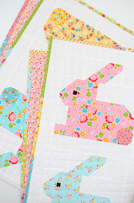 Quilted Easter Bunny