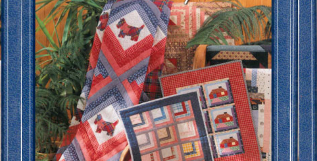 Log Cabin Christmas Quilt.Make A Log Cabin Quilt With Sweet Scottie Dogs Quilting Cubby