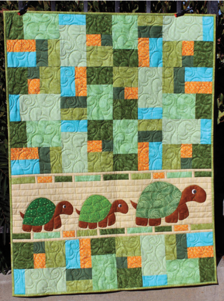 Double Jumble Turtle Quilt Kids Will Love Quilting Cubby