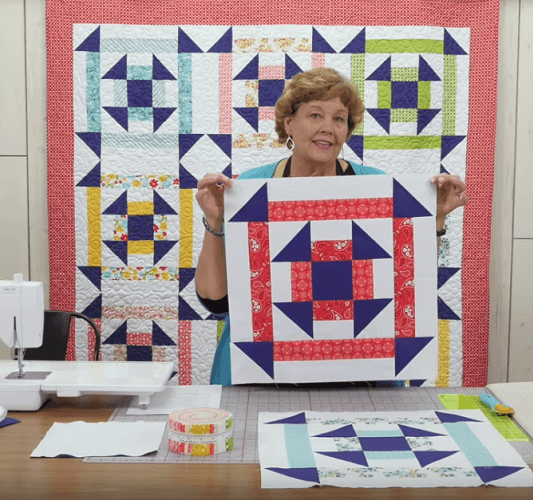 Just One Jelly Roll by Quilt Room Stepping Stones