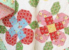 Big Flower quilt blocks Quilt pattern