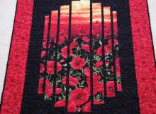 chong a hwang fabric timeless treasures wall quilt