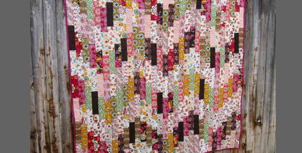 Thin Strips Make A Striking Quilt Quilting Cubby